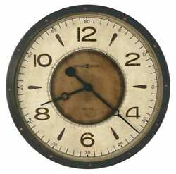625-748 NEW HOWARD MILLER -20.5    LARGE GALLERY WALL CLOCK  KAYDEN 625-748