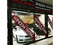 Hiring Window Tinting and Automotive Sound (Car Audio/Vision) Installers