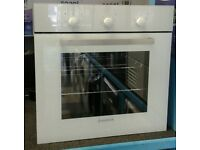 b547 white hoover single electric integrated oven with warranty can be delivered or collected
