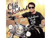 Cliff Richard concert tickets Eastnor Castle 17th June