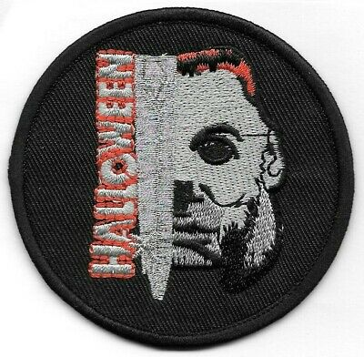 Halloween Movie Michael Myers Embroidered Patch Iron-On Sew-On fast US shipping (Halloween Patch)