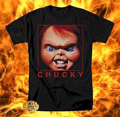New Chucky Child's Play Men's  Halloween Vintage Retro T-Shirt - Halloween Baby Shirt