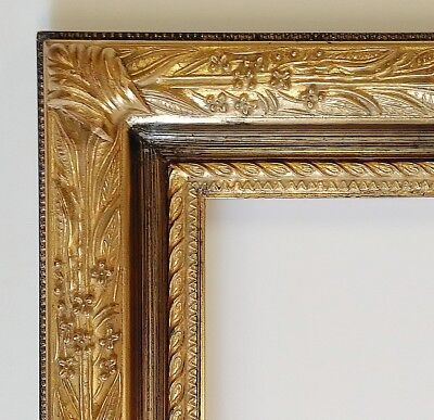 Picture Frame- 16x20 Vintage Shabby Chic Antique Style Baroque Gold Ornate 6482