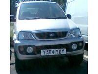 2004(54) DIAHATSU TERIOS 1.3 AUTO