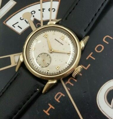 Vintage 1949 Mans Hamilton LANGDON Hand Wind Fully Serviced Ready To Wear