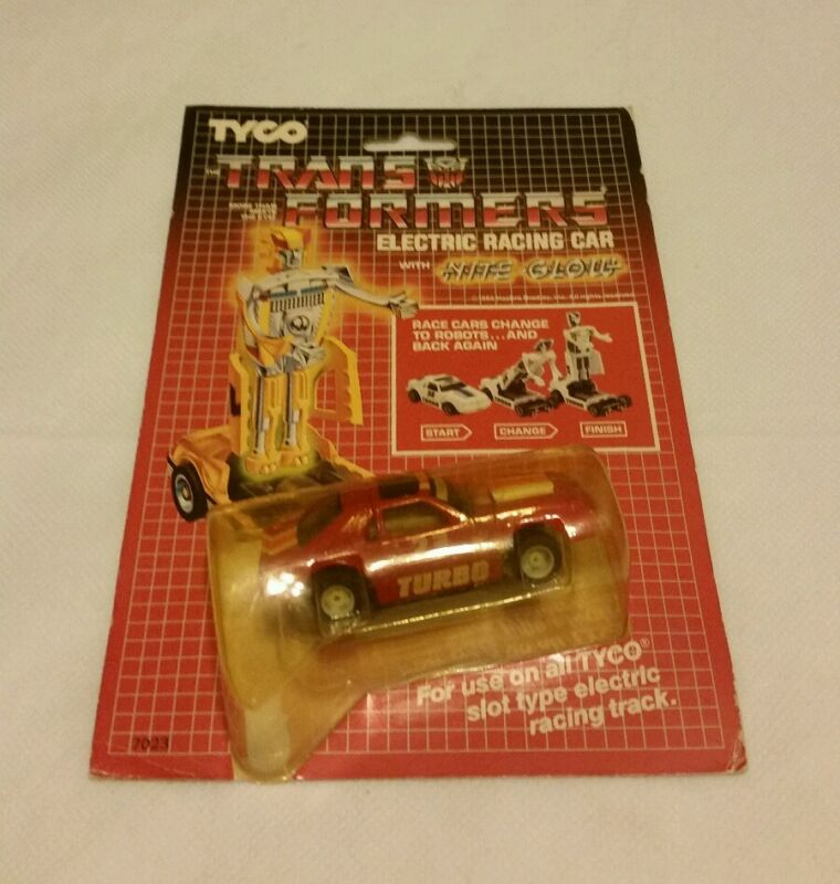 Transformers more than meets the eye 1985 slot car