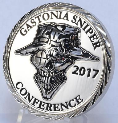 "2017 Gastonia Sniper Conference 2"" Police Challenge Coin Tactical Farm Training"