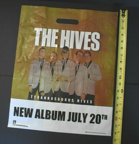 The Hives 2004 Color Promotional Bag Interscope Records 15x18