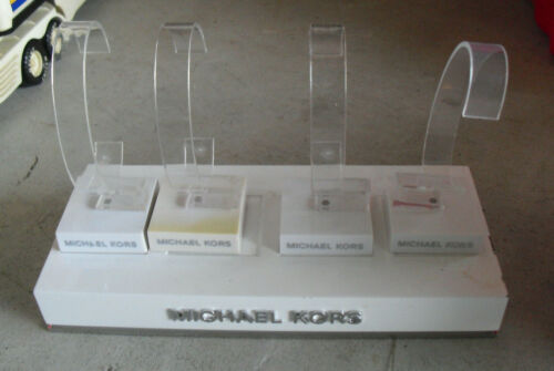 Unique Heavy Lucite Michael Kors Retail Watch Display