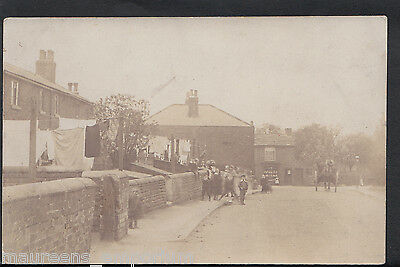 Unknown County Postcard - Unknown Location - Superb Animated Street Scene RT1482