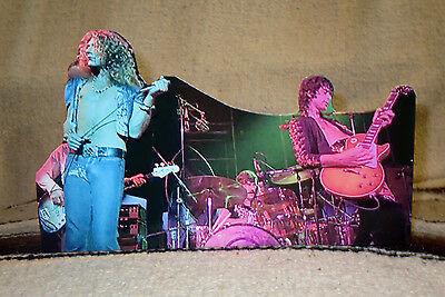 "Led Zeppelin Concert Tabletop Standee 10 1/2"" Long"