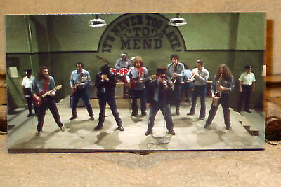 """The Blues Brothers """"The Band at Joliet"""" Movie Tabletop Standee 10 1/2"""" Long"""