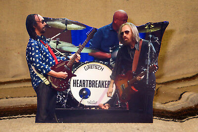 """Tom Petty and the Heart Breakers Rock Music Tabletop Standee 8"""" Long"""