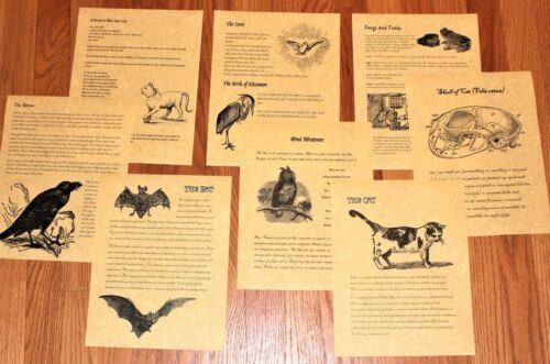 Book of Shadows - Wiccan Animals and Creatures