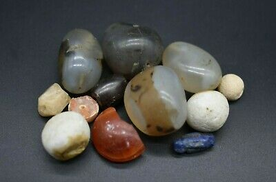 Mixed lot of ancient beads