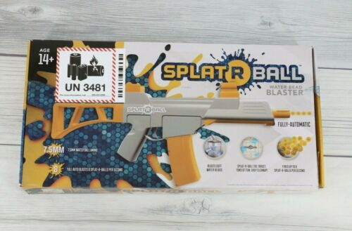 SplatRball Water Bead Blaster Kit Orange Grey