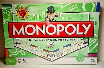 Monopoly Classic Board Game 2009~Speed Die,Faster Play~ NEW /SEALED Local - Classic Monopoly