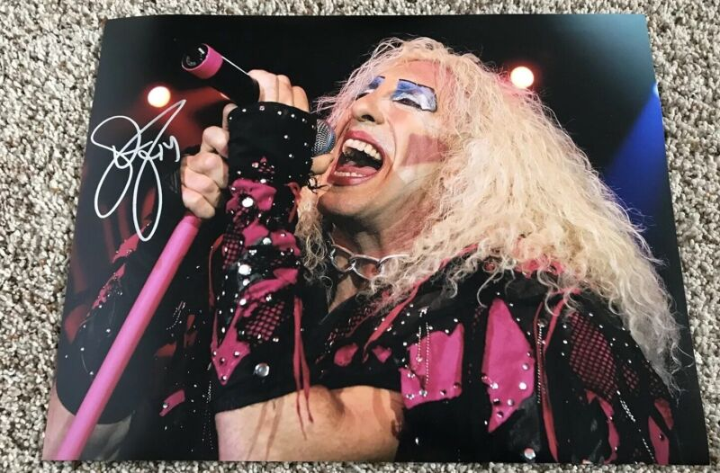 Dee Snider Signed 11x14 Photo Twisted Sister