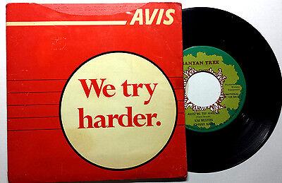 Avis Promotional   Johnny Nash   We Try Harder   1969 7  45 W  Promo Sleeve