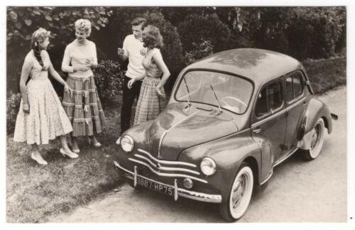 "Vintage Car Advertising Postcard: ""No. 2 Renault 4"" [Rotterdam, Netherlands]"
