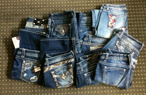 Miss Me Boot Jeans - Size 26 - New with Tags - Many Styles