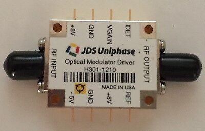 Jdsu H301-1210 10gbs Fiber Optical Modulator Driver Brand New