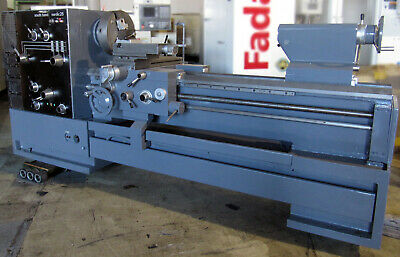 South Bend 25x60 Gap Bed Manual Lathe 16 3 4-jaw Chucks Quick Change Tool