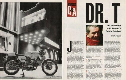 1998 Interview: Ducati