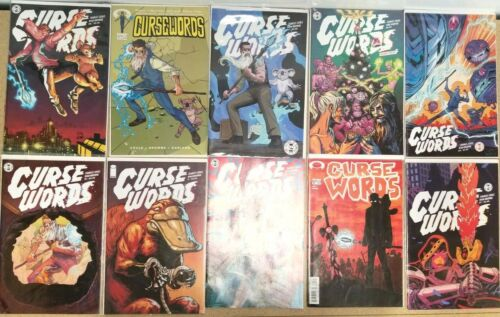 Lot of 10 Cursewords Comic Books
