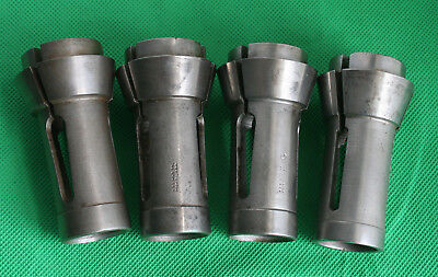4 Brown Sharpe No 11 Collets Lathe Machinist Gunsmith Tool Lot