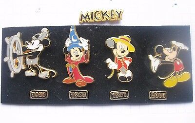 MICKEY MOUSE / MICKY MAUS ........... Disney / Comic-Pin Set 9 teilig (Ka5)