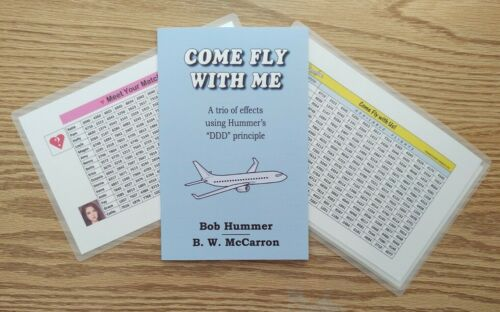 Come Fly with Me by Bob Hummer & B. W. McCarron (Mentalism, Mental Magic)