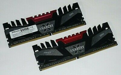 Gamers Deal! High Speed DDR4 Memory 16GB (2x 8GB) 3200 PC4-25600 PNY ANARCHY
