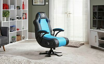 Used X Rocker-Licensed Sony PlayStation Legend 2.1Audio Gaming Chair-GBRH23