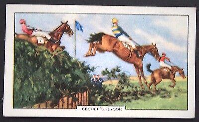 The Grand National   Original 1930's  Vintage Horse Racing Card  ## VGC