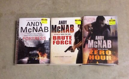 Andy McNab x 3 large books Narangba Caboolture Area Preview