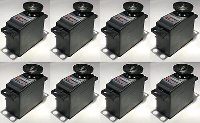 8 NEW servo motors Futaba S3004 S3151 sim. to Hobbico, Horizon Hobby, Hitec, DJI ()