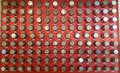 Vermont Gage Pin Set Class Zz Minus Range 0.501 - 0.625 - Usa - New