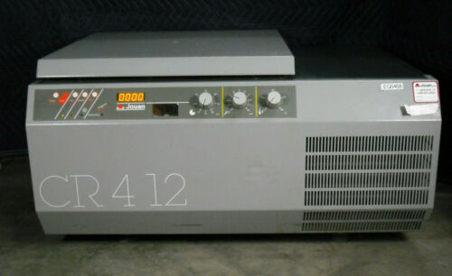 JOUAN CR412 REFRIGERATED CENTRIFUGE TYPE CR4-12 WITH ROTOR