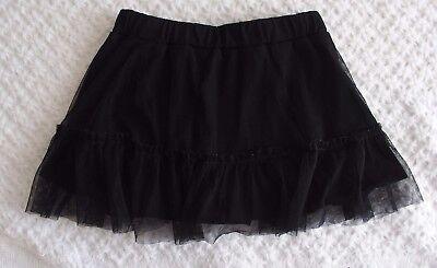Old Navy 3T Girl Halloween Black Tulle Skirt GUC dance (Old Navy Kostüme Halloween)