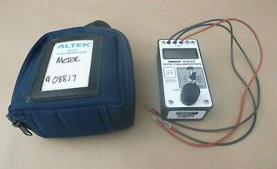 Altek Transcat 4363t Rtd Calibrator 211 Recorders Controllers Alarms Indicators
