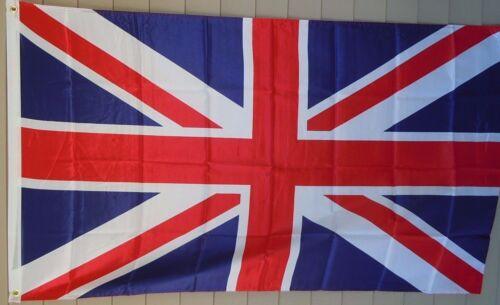 NEW 3x5 ft UNITED KINGDOM UK ENGLAND GREAT BRITAIN FLAG BANNER