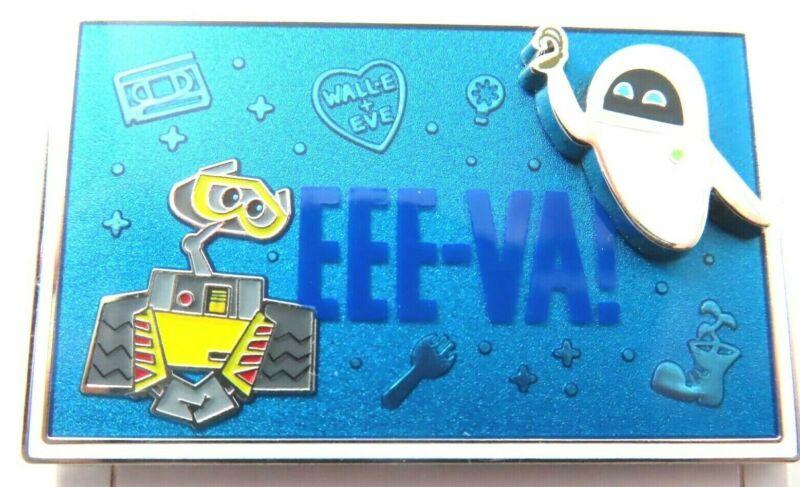 Disney Pin Wall-E & Eve Valentines Day Eee-va!