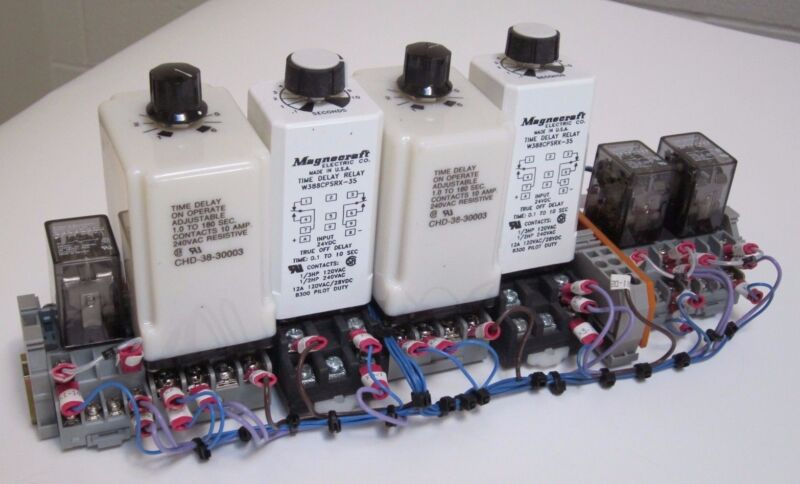 Magnecraft, Potter & Brumfield Time Delay Relay Assembly
