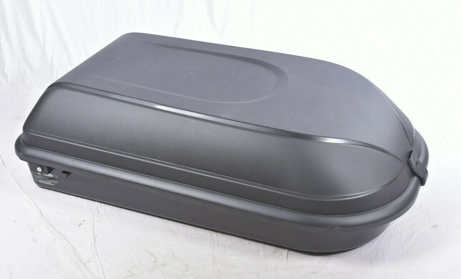 Universal Dachbox 320L 131x78x38cm schwarz Auto Dachgepäck Nero RAX K0381644R 5
