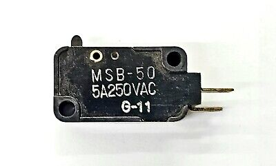 Mulon Msb-50 Spst- Off-on Micro Switch 5a 250 V Ac