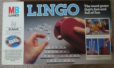 Lingo - classic word game MB games for sale  Shipping to Nigeria