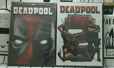 Deadpool 1 and Deadpool 2(DVD)Two Movies Bundle *NEW*