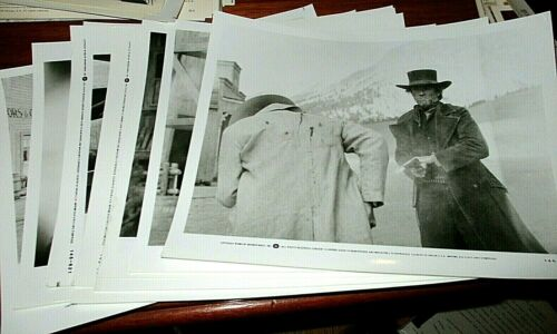 20+ Clint Eastwood Pale Rider Black/White Stills/Lobby Cards 1985 in NRMNT Cond.