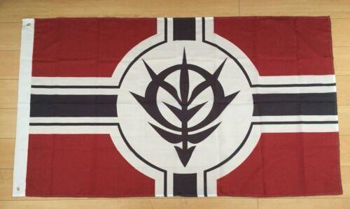 Mobile Suit Gundam Principality of Zeon 3x5 ft Flag Banner